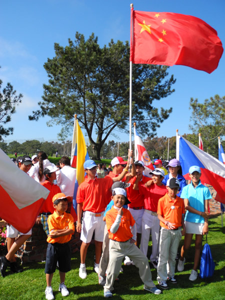 世界青少年高尔夫锦标赛隆重开幕