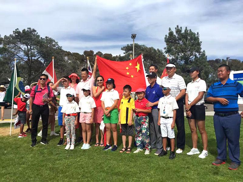 2018img学院世界青少年高尔夫锦标赛开幕式盛大举行